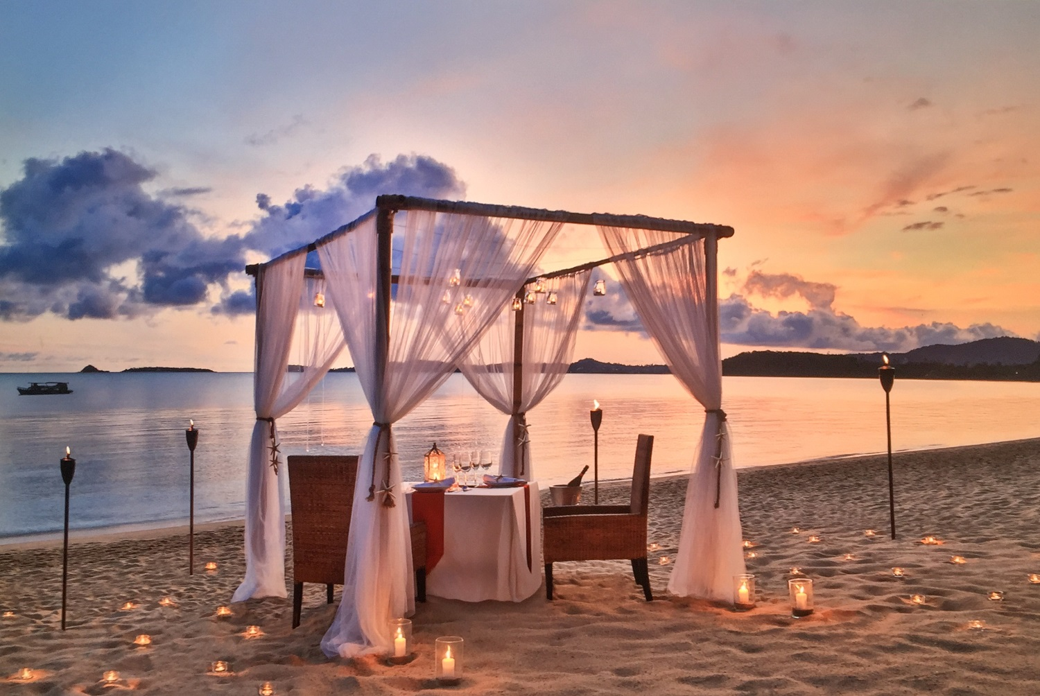 Dining by design cooking with creativity at anantara for Design hotel koh samui